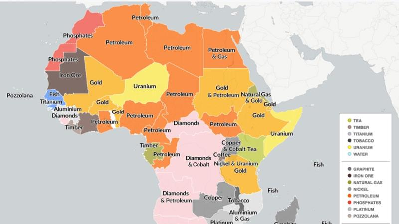 Africa is not poor, we are stealing its wealth