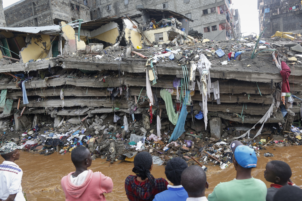 Causes of building failures in Africa: A case study on collapsing structures in Kenya